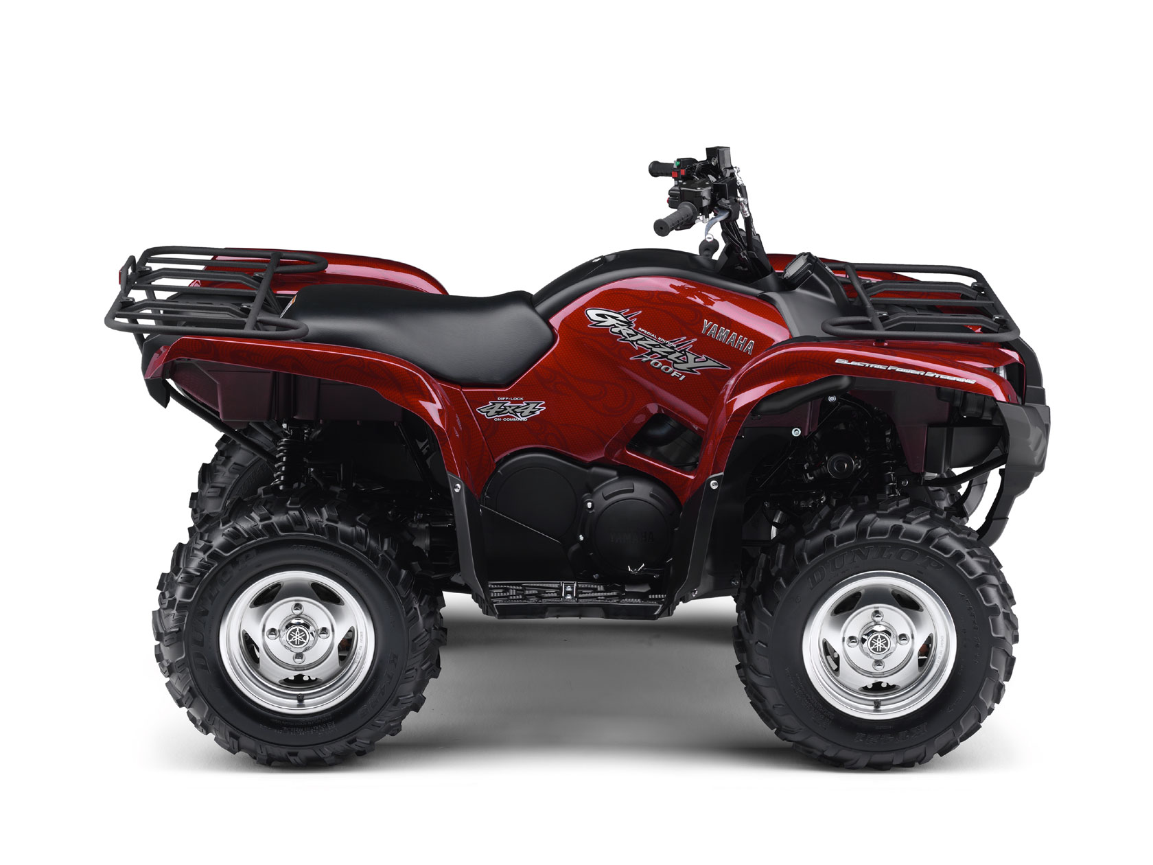 Yamaha grizzly 700 eps for Yamaha grizzly 50