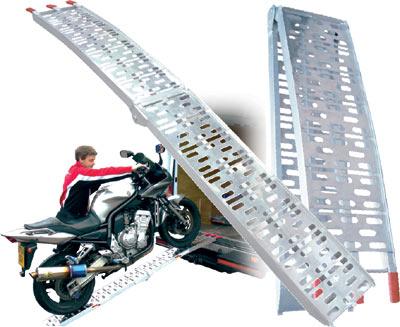 Najazdy aluminiowe quad